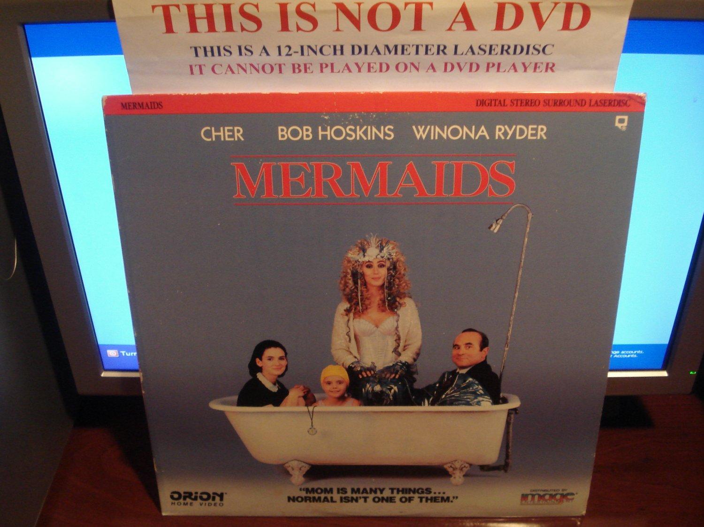 Laserdisc MERMAIDS 1990 Bob Hoskins Winona Ryder FS LD