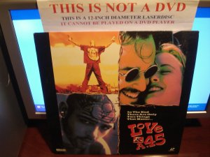 Laserdisc LOVE & A.45 1994 Johnny Cash Gil Bellows FS Rare LD