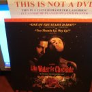 Laserdisc LIKE WATER FOR CHOCOLATE 1993 Marco Leonardi Spanish w/English SubT LD Movie [2111AS]