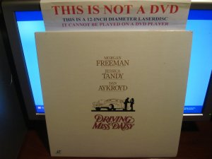 Laserdisc DRIVING MISS DAISY 1989 Jessica Tandy Lot#3 LTBX LD Movie [11931]