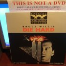 Laserdisc DIE HARD (Part 1) 1988 Bruce Willis Lot#15 SWE LD Movie [1666-80]