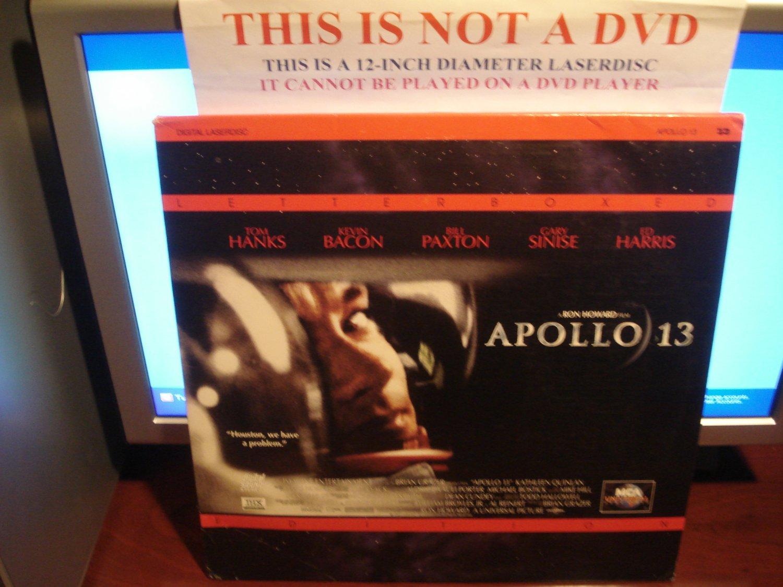 Laserdisc APOLLO 13 1995 Tom Hanks Kevin Bacon Lot#1a LTBX THX LD Movie [42580]