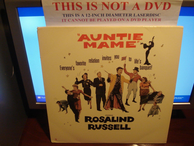 Laserdisc AUNTIE MAME (1958) Rosalind Russell Lot#4 LTBX Classic LD Movie [ML105544]