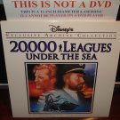 LD Disney 20,000 LEAGUES UNDER THE SEA (1954) Lot#5 EAC LTBX Walt Laserdisc Classics Movie [1587CS]