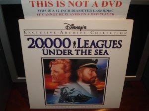 LD Disney 20,000 LEAGUES UNDER THE SEA (1954) Lot#5 EAC LTBX Walt Laserdisc Classics Movie [1587CS]