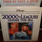 LD Disney 20,000 LEAGUES UNDER THE SEA (1954) Lot#6 EAC LTBX Walt Laserdisc Classics Movie [1587CS]