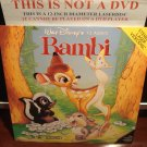 LD Disney BAMBI (1942) Lot#6 Walt Classic FS CLV Laserdisc Movie [942AS]