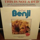 LD Children BENJI: THE ORIGINAL MOVIE (1974) Joe Camp's FS SEALED Laserdisc Movie [ID8660BF]