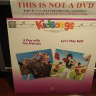 LD Children KIDSONGS: A DAY WITH THE ANIMALS & LET'S PLAY BALL Music Video Laserdisc [9 38236-6]