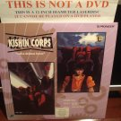 LD Anime KISHIN CORPS: Volume Four 1983 Toshiko Fujita Japan SEALED Laserdisc CAV Movie [PILA-1176A]