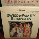 LD Disney SWISS FAMILY ROBINSON (1960) Lot#2 Exclusive Archive Collection Laserdisc Movie [1996 CS]