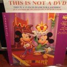 LD Disney THE PRINCE AND THE PAUPER (1937-1952) Willie Peter Wolf SEALED Laserdisc Video [1191 AS]