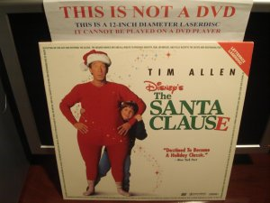 LD Disney THE SANTA CLAUSE 1994 Tim Allen Lot#2 LTBX AC-3 Walt Laserdisc Video Movie [3633 AS]
