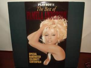 LD Adult PLAYBOY THE BEST OF PAMELA ANDERSON 1995 Babewatch Centerfold Laserdisc [ID3262PL]
