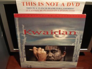 LD Criterion KWAIDAN (1964) Michiyo Aratama The Voyager Collection CLV Laserdisc [CC1237L Spine 119]
