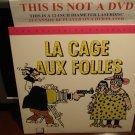 LD Criterion LA CAGE AUX FOLLES (1979) Ugo Tognazzi Lot#2 French w/ST CLV Laserdisc [CC1274L / 96]