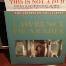 LD Criterion LAWRENCE OF ARABIA (1962) Peter O'Toole Lot#4 CLV Janus Laserdisc [CC1197L / 78A]