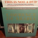 LD Criterion LAWRENCE OF ARABIA (1962) Peter O'Toole Lot#5 CLV Janus Laserdisc [CC1197L / 78A]