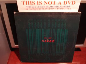 LD Criterion NAKED 1993 Mike Leigh Lot#3 CLV The Collection CLV Laserdisc [Cat: C1386L Spine 234]