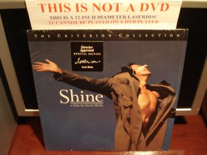LD Criterion SHINE 1996 Scott Hicks Director Approved Special Edition CLV Laserdisc [CC1486L / 335]