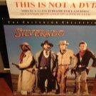 LD Criterion SILVERADO 1985 Lawrence Kasdan Western Laserdisc [CC1229L Spine No. 118A]