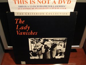 LD Criterion THE LADY VANISHES (1938) Hitchcock Lot#2 CLV Second Printing Voyager [CC1104L Spine  4]