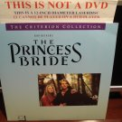 LD Criterion THE PRINCESS BRIDE 1987 Cary Elwes Lot#5 CLV Spine#40A Laserdisc [CC1194L]
