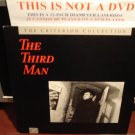 LD Criterion THE THIRD MAN (1949) Orson Welles Lot#2 CLV Spine#5 Voyager Laserdisc [CC1105L]