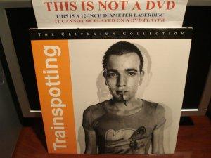 LD Criterion TRAINSPOTTING 1995 Ewan McGregor Lot#3 CLV Spine#325 The Voyager Laserdisc [CC1477L]