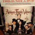 Laserdisc ADDAMS FAMILY VALUES 1993 Anjelica Houston Lot#3 FS Horror Comedy LD Movie [LV 32806]