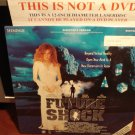 Laserdisc FUTURE SHOCK 1993 Vivian Schilling Unrated Director's Version Sci-Fi LD Movie [8169]