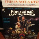Laserdisc MOM AND DAD SAVE THE WORLD 1992 Teri Garr Sci-Fi Comedy Thriller LD Movie [LD90743]