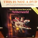 Laserdisc NETHERWORLD 1991 Michael Bendetti Sci-Fi Full Moon Entertainment LD Movie [LV 12940]