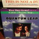 Laserdisc QUANTUM LEAP: WHAT PRICE GLORIA & CATCH A FALLING STAR 1989 Sci-Fi LD Movie [41734]