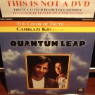 Laserdisc QUANTUM LEAP: THE COLOR OF TRUTH & CAMIKAZI KID 1989 Lot#3 SEALED Sci-Fi LD Movie [41735]