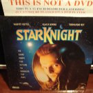 "Laserdisc STAR KNIGHT 1986 Klaus Kinski ""El Caballero Del Dragon"" Sci-Fi LD Movie [LDCVM5570]"