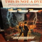 Laserdisc THE AVENGERS 1988 Uma Thurman Sean Connery  LTBX AC-3 Sci-Fi Thriller LD Movie [15873]
