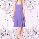 Details about  Dessy Social Bridesmaids 8126....Knee-Length, Chiffon, Dress...Tahiti.....Sz 12
