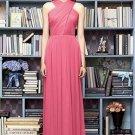 Lela Rose LR 212....Full length..sleeveless, Chiffon Dress.....Punch.....Sz 22