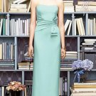 Lela Rose LR 219....Full length..Strapless, Crepe Dress....Dew Drop.....Sz 22