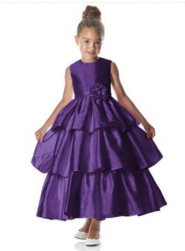 Dessy 4028.....Flower Girl / Special Occasion Dress.....Majestic.....2