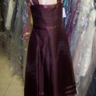 Dessy 4005.....Flower Girl / Special Occasion Dress....Burgundy...Sz 5