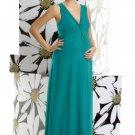 Alfred Sung M 406......Maternity / Full Length Dress.....Jade......Sz 6 LONG