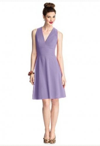 57 Grand..Style 5708....Cocktail length, Sleeveless Dress.....Passion....Sz 4