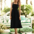After Six..6554......Tea length, Halter Dress.......Black.....Size 10
