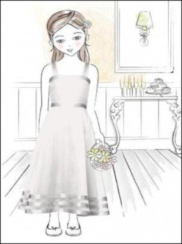 Dessy 4005.....Flower Girl / Special Occasion Dress.....Star light....Sz 4