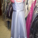 Dessy 4005.....Flower Girl / Special Occasion Dress.....Frost....Sz 8