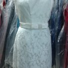 57 Grand..Style 5707...Cocktail length, Strapless Dress....Ivory....Sz 6