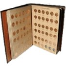 Lincoln Memorial Cents 1959-2010 (172) coins CH BU and Gem Proof in a Deluxe Dansco album.