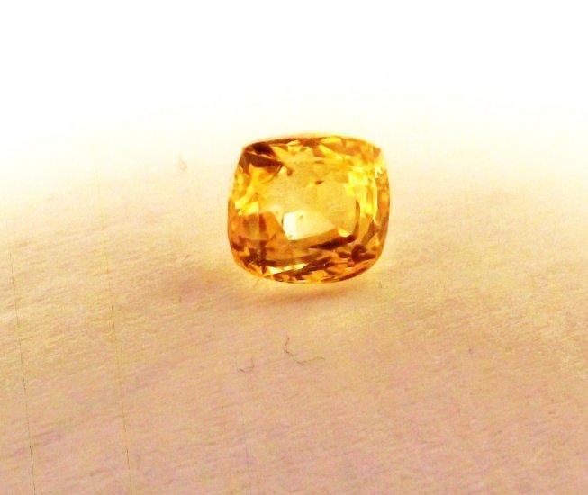 Yellow Sapphire 1.58 Ct Natural
